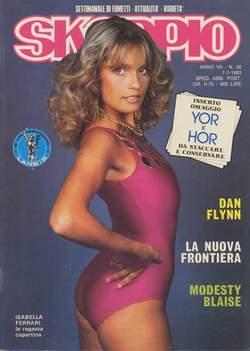 Copertina SKORPIO ANNO  7 n.26 - SKORPIO 1983            26, EDITORIALE AUREA