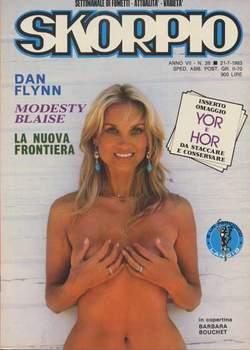 Copertina SKORPIO ANNO  7 n.28 - SKORPIO 1983            28, EDITORIALE AUREA