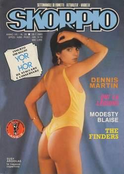 Copertina SKORPIO ANNO  7 n.29 - SKORPIO 1983            29, EDITORIALE AUREA