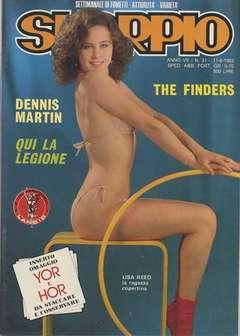 Copertina SKORPIO ANNO  7 n.31 - SKORPIO 1983            31, EDITORIALE AUREA