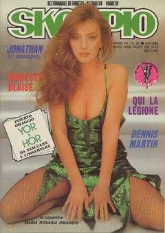 Copertina SKORPIO ANNO  7 n.35 - SKORPIO 1983            35, EDITORIALE AUREA