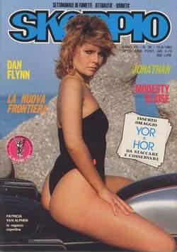 Copertina SKORPIO ANNO  7 n.36 - SKORPIO 1983            36, EDITORIALE AUREA