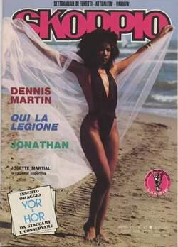 Copertina SKORPIO ANNO  7 n.43 - SKORPIO 1983            43, EDITORIALE AUREA