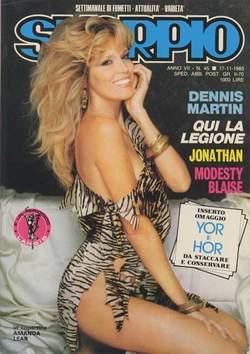 Copertina SKORPIO ANNO  7 n.45 - SKORPIO 1983            45, EDITORIALE AUREA