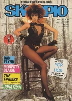 Copertina SKORPIO ANNO  7 n.46 - SKORPIO 1983            46, EDITORIALE AUREA