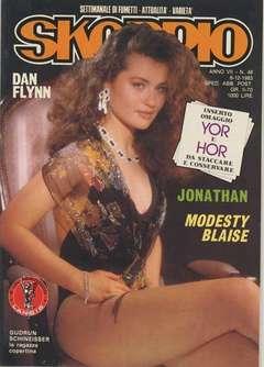 Copertina SKORPIO ANNO  7 n.48 - SKORPIO 1983            48, EDITORIALE AUREA