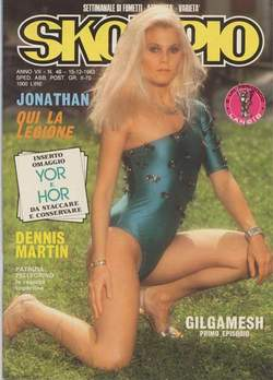 Copertina SKORPIO ANNO  7 n.49 - SKORPIO 1983            49, EDITORIALE AUREA