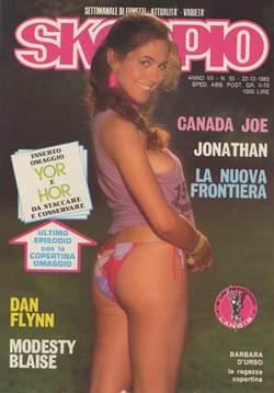 Copertina SKORPIO ANNO  7 n.50 - SKORPIO 1983            50, EDITORIALE AUREA