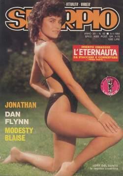 Copertina SKORPIO ANNO  7 n.52 - SKORPIO 1983            52, EDITORIALE AUREA