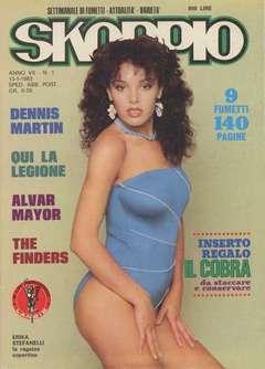 Copertina SKORPIO ANNO  7 n.1 - SKORPIO 1983             1, EDITORIALE AUREA