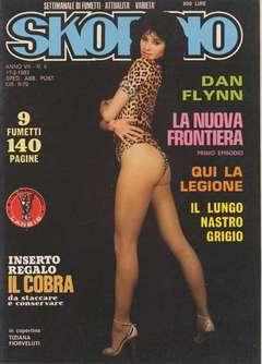 Copertina SKORPIO ANNO  7 n.6 - SKORPIO 1983             6, EDITORIALE AUREA