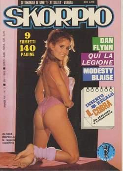 Copertina SKORPIO ANNO  7 n.2 - SKORPIO 1983             2, EDITORIALE AUREA