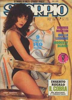 Copertina SKORPIO ANNO  7 n.3 - SKORPIO 1983             3, EDITORIALE AUREA