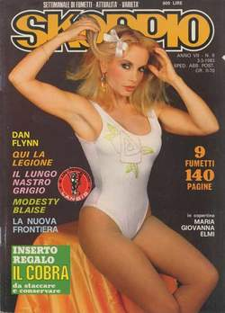 Copertina SKORPIO ANNO  7 n.8 - SKORPIO 1983             8, EDITORIALE AUREA