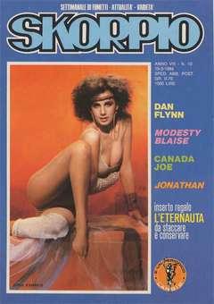 Copertina SKORPIO ANNO  8 n.10 - SKORPIO 1984            10, EDITORIALE AUREA