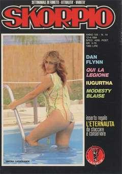 Copertina SKORPIO ANNO  8 n.14 - SKORPIO 1984            14, EDITORIALE AUREA