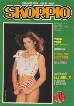 Copertina SKORPIO ANNO  8 n.15 - SKORPIO 1984            15, EDITORIALE AUREA