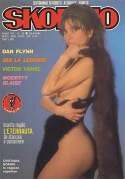 Copertina SKORPIO ANNO  8 n.16 - SKORPIO 1984            16, EDITORIALE AUREA