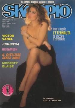 Copertina SKORPIO ANNO  8 n.19 - SKORPIO 1984            19, EDITORIALE AUREA