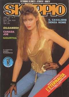 Copertina SKORPIO ANNO  8 n.21 - SKORPIO 1984            21, EDITORIALE AUREA