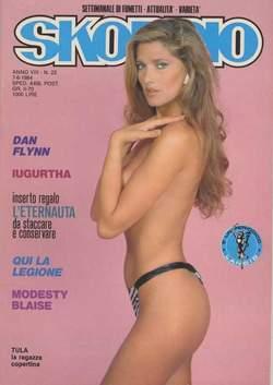 Copertina SKORPIO ANNO  8 n.22 - SKORPIO 1984            22, EDITORIALE AUREA
