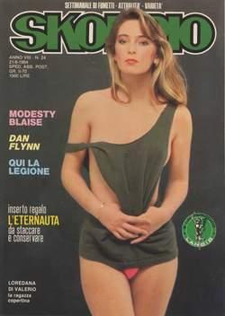 Copertina SKORPIO ANNO  8 n.24 - SKORPIO 1984            24, EDITORIALE AUREA