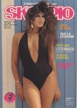 Copertina SKORPIO ANNO  8 n.28 - SKORPIO 1984            28, EDITORIALE AUREA
