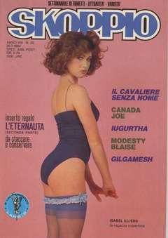 Copertina SKORPIO ANNO  8 n.29 - SKORPIO 1984            29, EDITORIALE AUREA