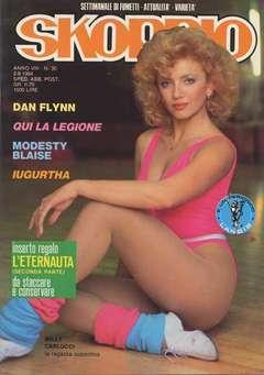 Copertina SKORPIO ANNO  8 n.30 - SKORPIO 1984            30, EDITORIALE AUREA
