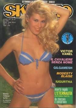 Copertina SKORPIO ANNO  8 n.31 - SKORPIO 1984            31, EDITORIALE AUREA