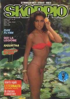 Copertina SKORPIO ANNO  8 n.34 - SKORPIO 1984            34, EDITORIALE AUREA