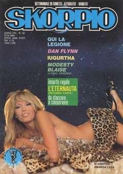 Copertina SKORPIO ANNO  8 n.38 - SKORPIO 1984            38, EDITORIALE AUREA