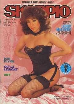 Copertina SKORPIO ANNO  8 n.40 - SKORPIO 1984            40, EDITORIALE AUREA
