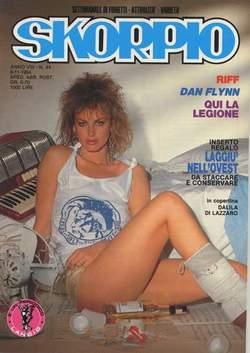 Copertina SKORPIO ANNO  8 n.44 - SKORPIO 1984            44, EDITORIALE AUREA