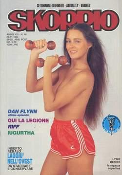Copertina SKORPIO ANNO  8 n.46 - SKORPIO 1984            46, EDITORIALE AUREA