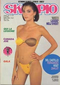 Copertina SKORPIO ANNO  8 n.48 - SKORPIO 1984            48, EDITORIALE AUREA