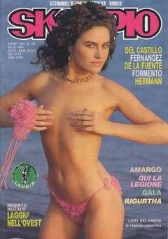 Copertina SKORPIO ANNO  8 n.50 - SKORPIO 1984            50, EDITORIALE AUREA