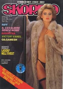 Copertina SKORPIO ANNO  8 n.51 - SKORPIO 1984            51, EDITORIALE AUREA