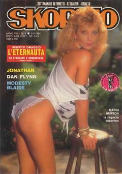 Copertina SKORPIO ANNO  8 n.4 - SKORPIO 1984             4, EDITORIALE AUREA