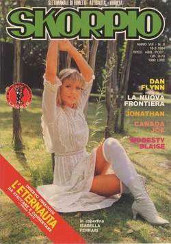 Copertina SKORPIO ANNO  8 n.6 - SKORPIO 1984             6, EDITORIALE AUREA