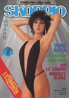 Copertina SKORPIO ANNO  8 n.1 - SKORPIO 1984             1, EDITORIALE AUREA