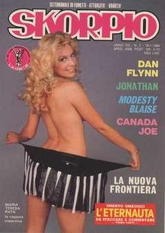 Copertina SKORPIO ANNO  8 n.2 - SKORPIO 1984             2, EDITORIALE AUREA