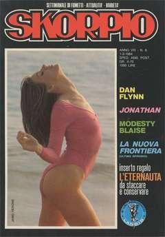 Copertina SKORPIO ANNO  8 n.8 - SKORPIO 1984             8, EDITORIALE AUREA