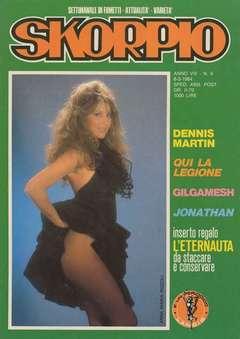 Copertina SKORPIO ANNO  8 n.9 - SKORPIO 1984             9, EDITORIALE AUREA