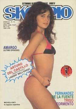 Copertina SKORPIO ANNO  9 n.10 - SKORPIO 1985            10, EDITORIALE AUREA