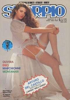 Copertina SKORPIO ANNO  9 n.11 - SKORPIO 1985            11, EDITORIALE AUREA
