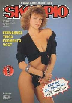 Copertina SKORPIO ANNO  9 n.12 - SKORPIO 1985            12, EDITORIALE AUREA