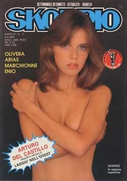Copertina SKORPIO ANNO  9 n.13 - SKORPIO 1985            13, EDITORIALE AUREA