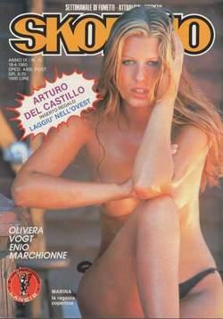 Copertina SKORPIO ANNO  9 n.15 - SKORPIO 1985            15, EDITORIALE AUREA