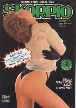 Copertina SKORPIO ANNO  9 n.16 - SKORPIO 1985            16, EDITORIALE AUREA